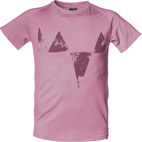 Isbjörn Big Peaks Tee Teens Barn dusty pink